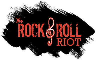 the rock & roll riot logo black splash.p