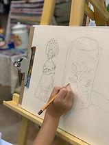 рисование для детей. Школа Лесова