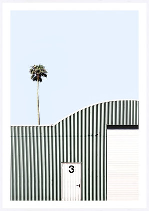 Miami Shed Framed Print