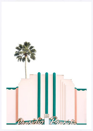 Miami Palm Framed Print