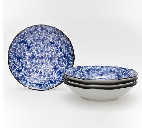 Japanese Ceramic bowl 21cm boxed set 4