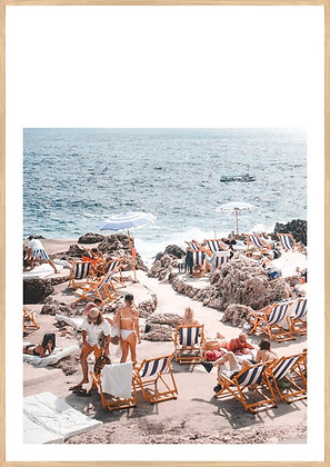 Italian Bathers Framed Print