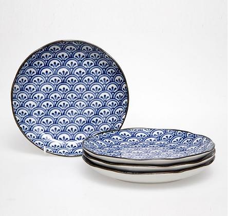 Japanese Ceramic Plates Boxed 4