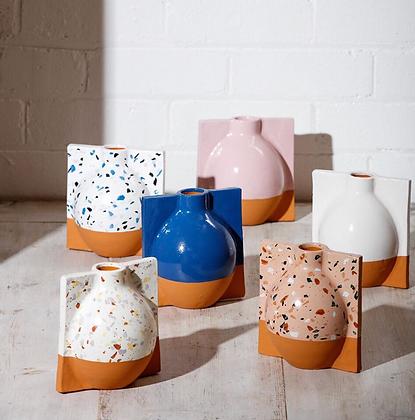 Terrazzo Speckle Vase