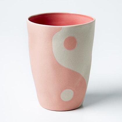 Yin + Yang Blush vessel