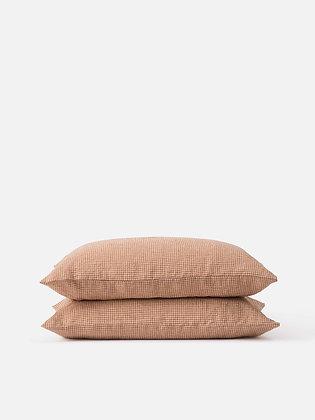 Gingham Linen Pillowcase