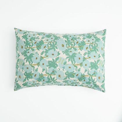 Honey Blue Floral Pillowcase