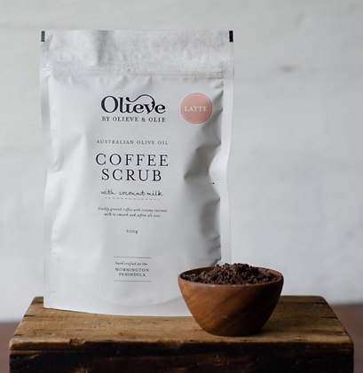 Latte Coffee Body Scrub