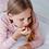 Thumbnail: 100% Organic Cotton Autumn/Winter Pyjama Set in Blush Pink