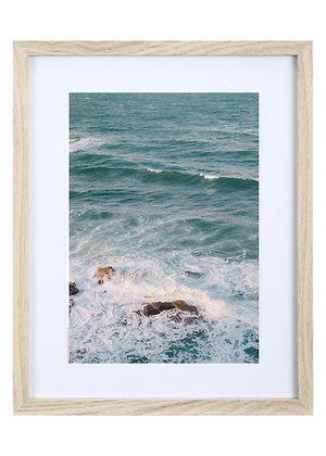 Ocean Three Framed Print