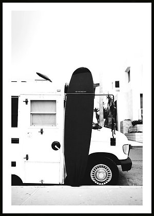 Givenchy Surfboard Framed Print