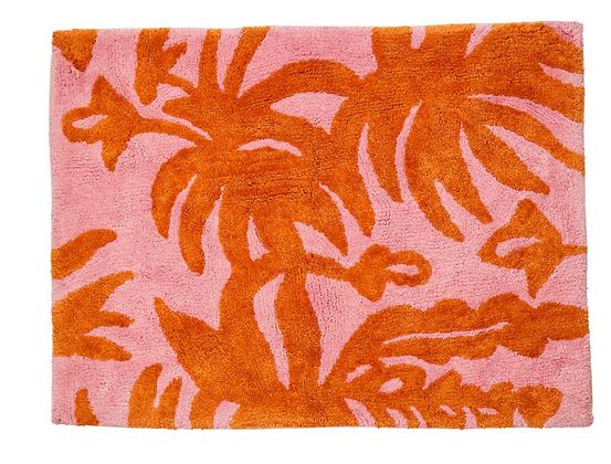 Leafy Rust Bathmat