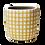 Thumbnail: Butter Checkered Vase