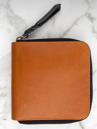 Zorrow Leather Wallet Tan