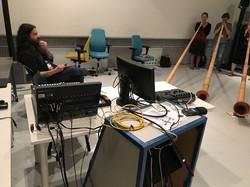 Probe im Studio