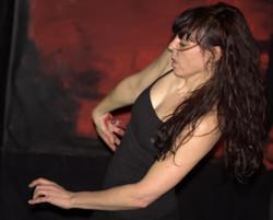 La danseuse Aude Manchon