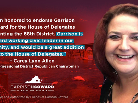Carey Lynn Allen Endorses Garrison