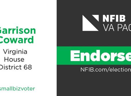 NFIB Virginia Endorsed!