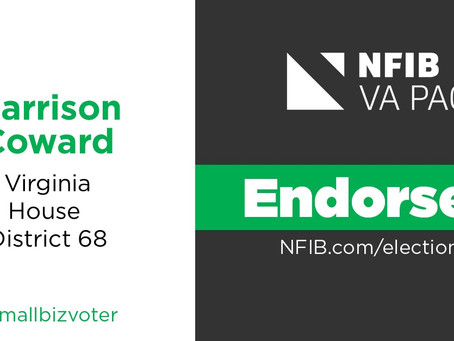 NFIB Virginia Endorsed!