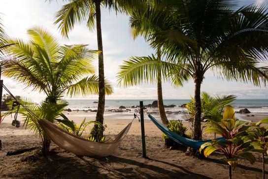 Zona de hamacas playa