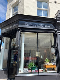 Shop window of Couture Collective