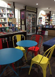 photo of the children area in a bookshop