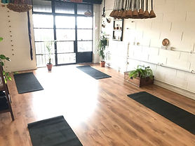 Photo of inside the Fulham Yoga Studio 21