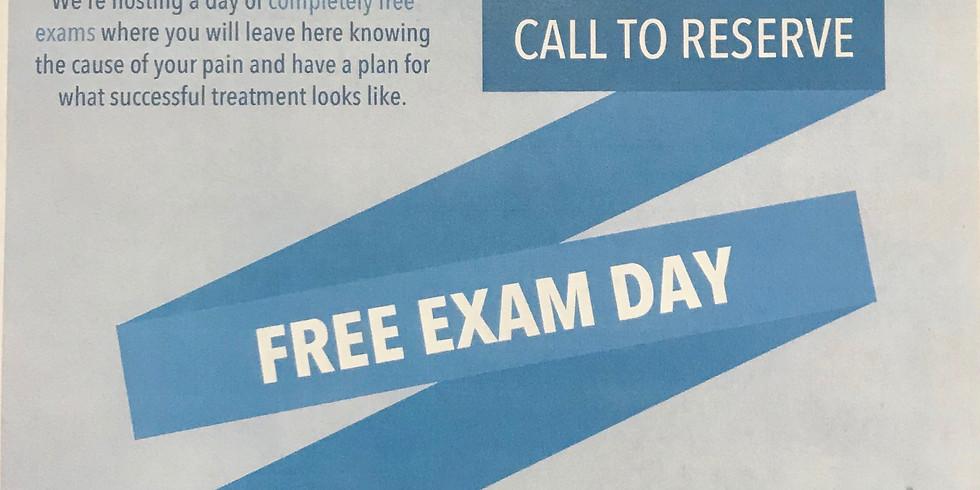 Free exam day
