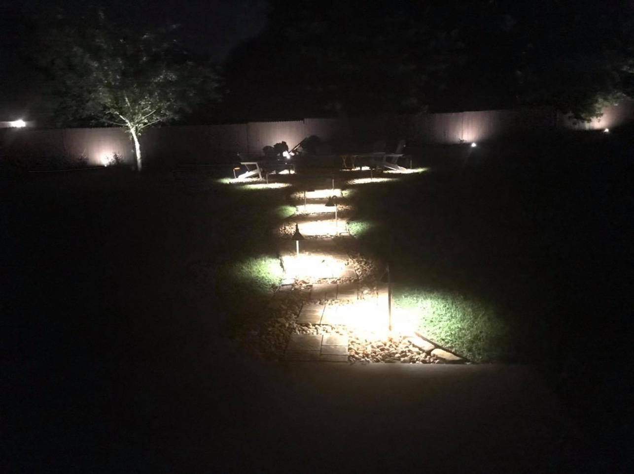 Voltage Powered Landscape Lighting