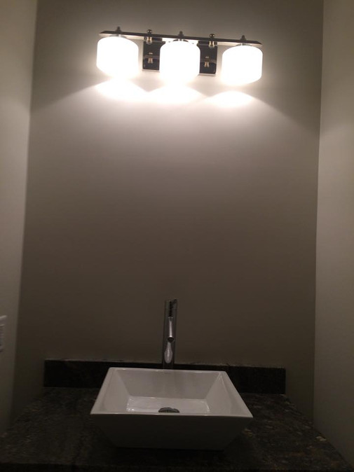 remodeling the bathroom