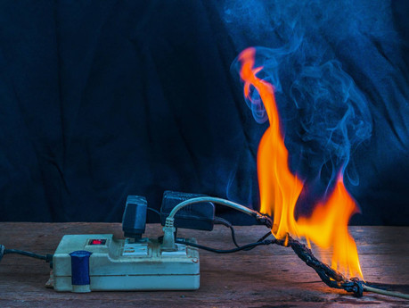 How do you put out an electrical fire?