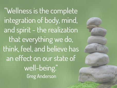 Inspiration for Improved Wellness