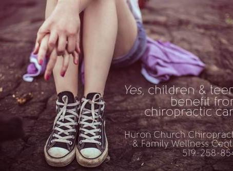 Children, Teens & Chiropractic Care
