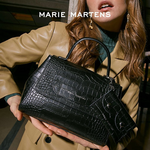 Marie Martens Beaumonde Black croco