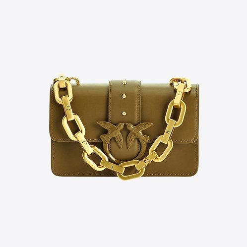 Pinko Love Bag Maxi Chain Olive