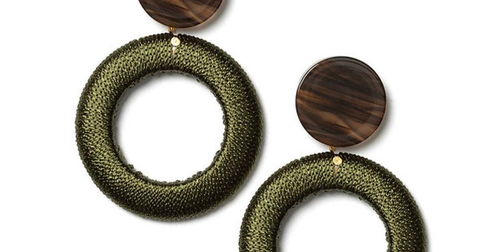 Willow Earrings Green