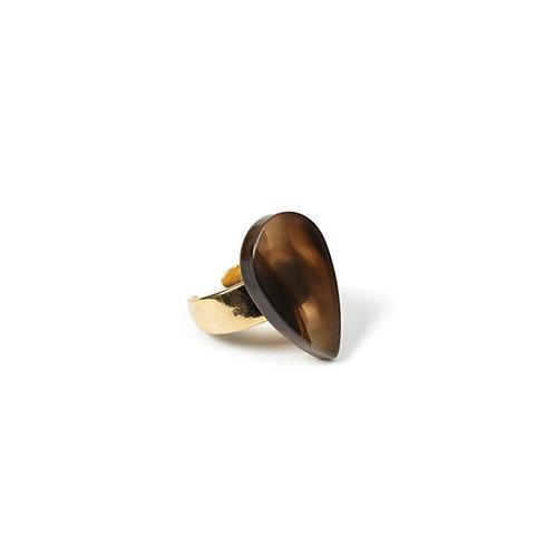 Tweed Ring Brown