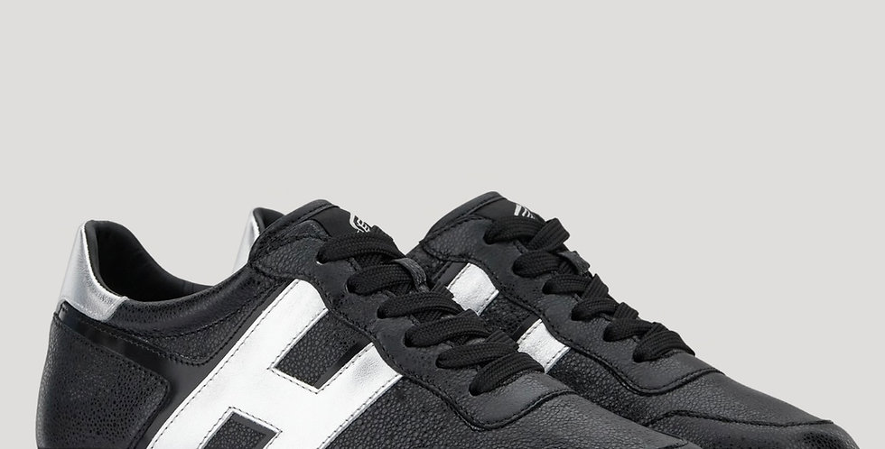 Hogan Midi H222 Black Silver