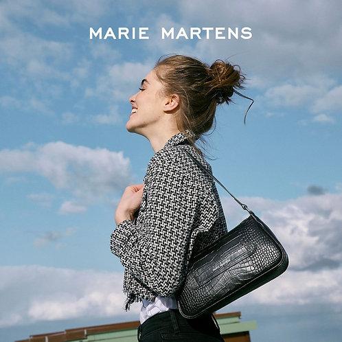 Marie Martens Baguette Black croco