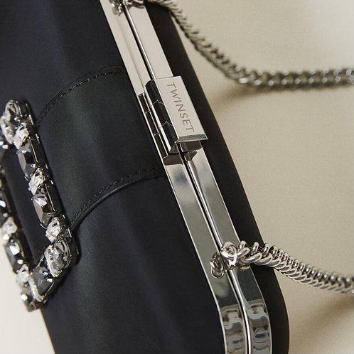 Twinset clutch jewel buckle