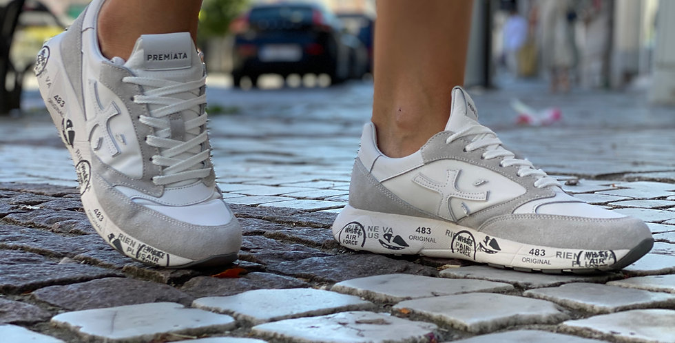 Premiata sneaker wit