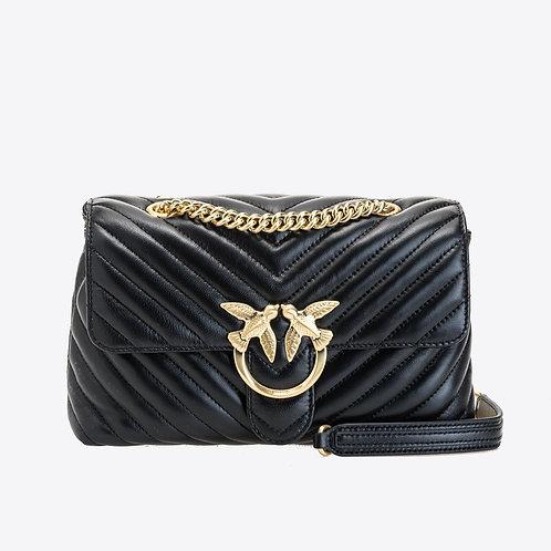 Pinko Love Bag Puff V Quilt Black