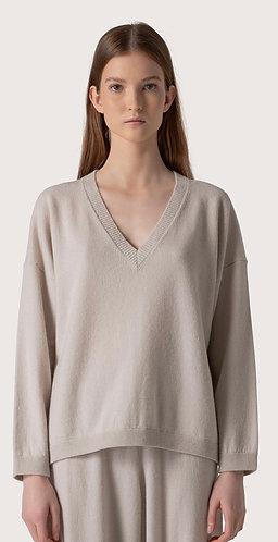 V-Neck Over Shirt