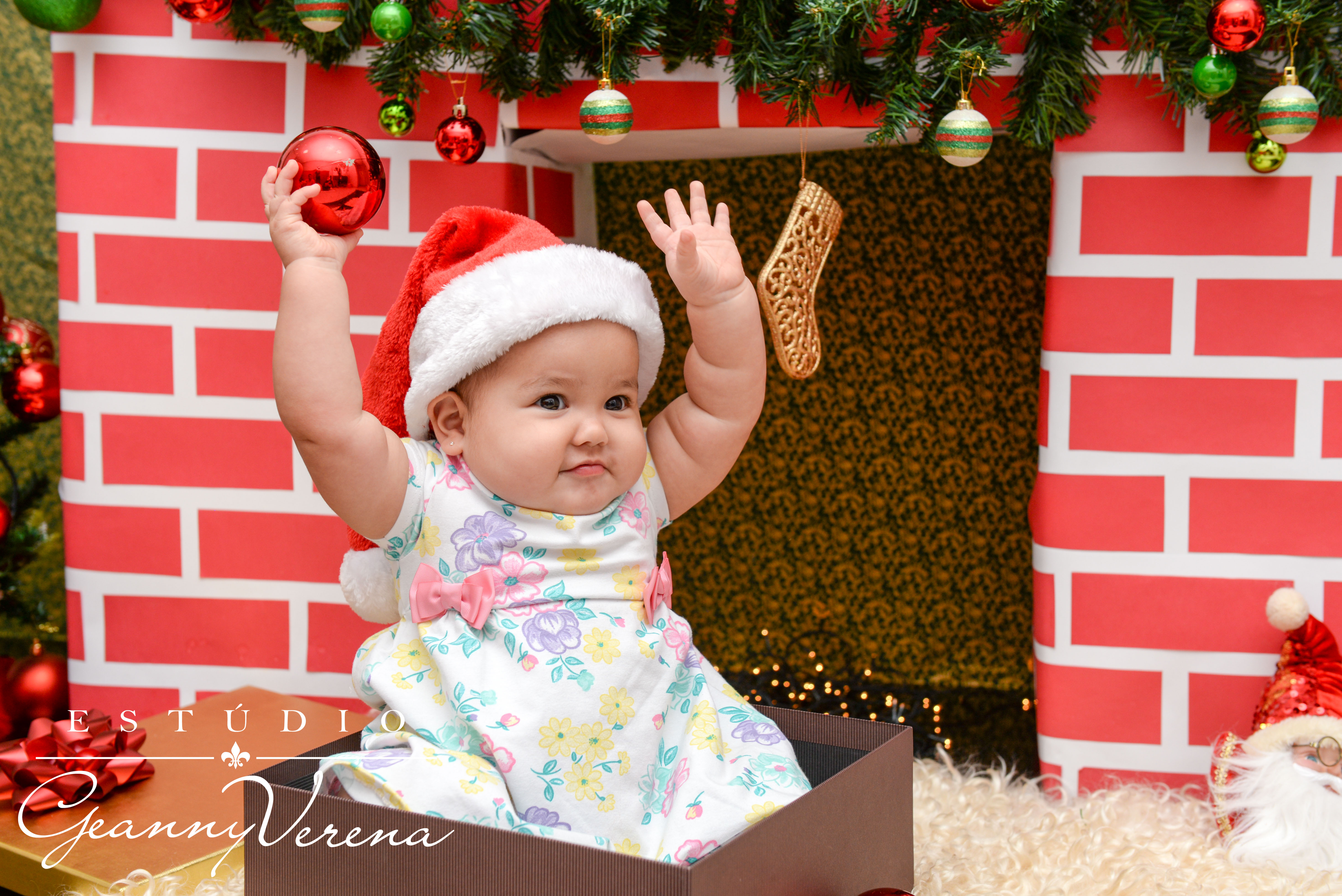 Bebê no Natal