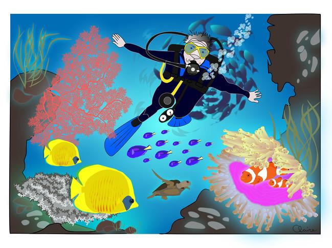 Les aventures du tonton plongeur