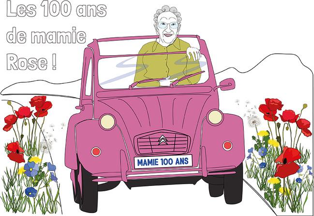 Les 100 ans de mamie Rose
