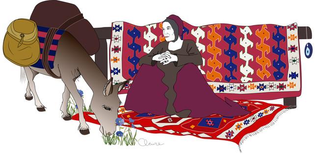 La tisserande en anatolie