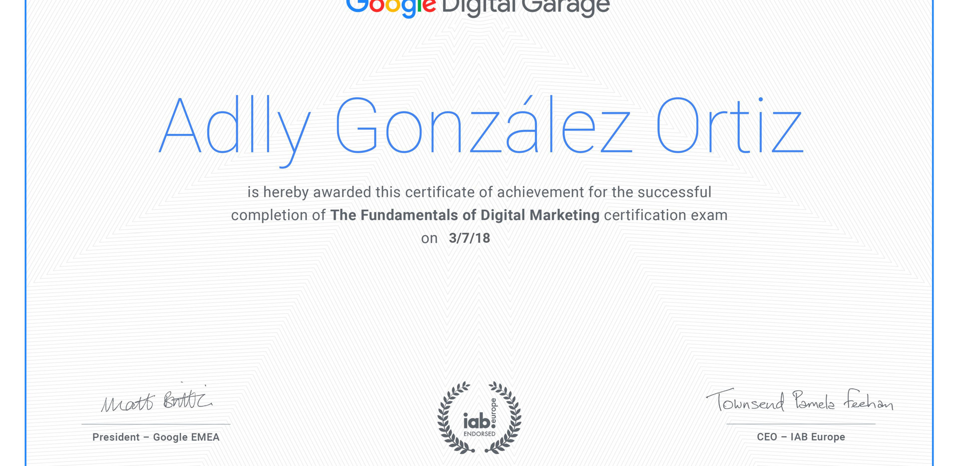 Digital Garage. Online Business Strategy Certificate.jpg