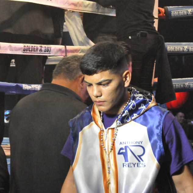 Anthony Reyes Arrives