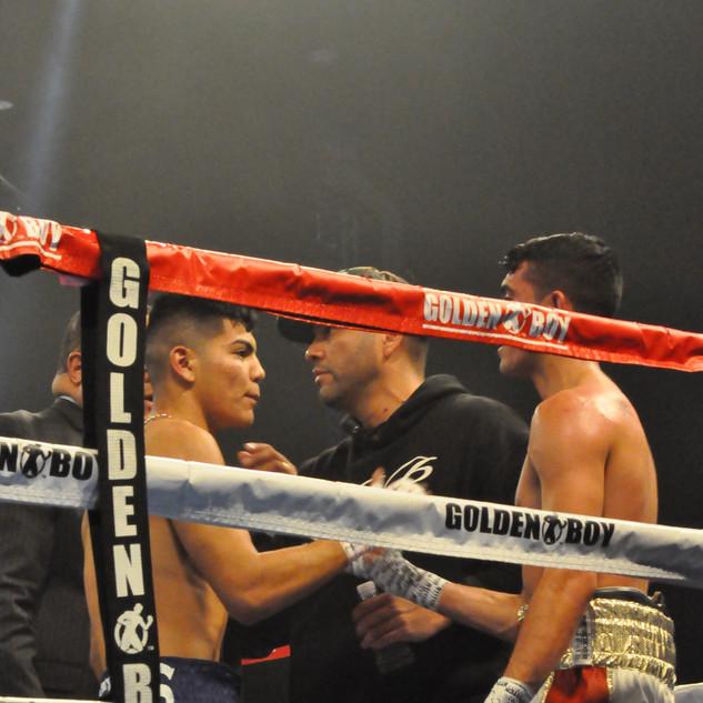 Anthony's TKO Victory Handshake